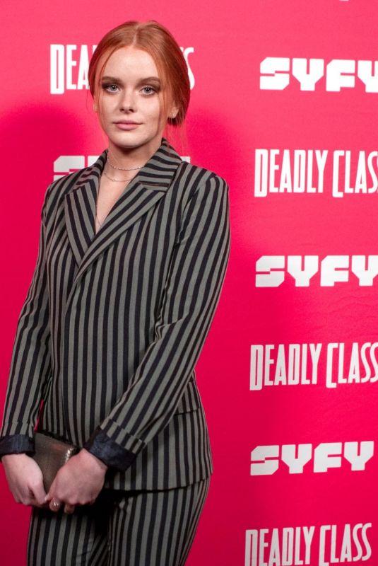 ABIGAIL COWEN at Deadly Class Premiere Week Screening in Los Angeles 01/14/2019
