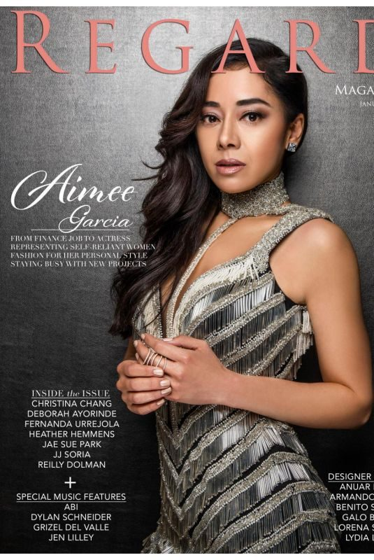AIMEE GARCIA in Regard Magazine, January 2019