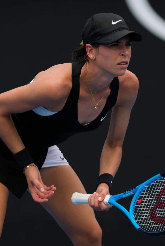 AJLA TOMLJANOVIC at 2019 Australian Open at Melbourne Park 01/15/2019