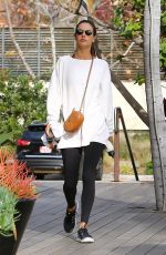 ALESSANDRA AMBROSIO Leaves a Gym in Malibu 01/13/2019