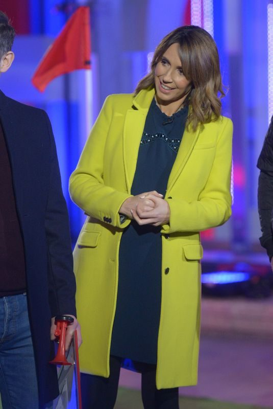 ALEX JONES at The One Show in London 01/23/2019