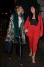 ALEXANDRA CANE and KATE LAWLER at Ours Restaraunt in London 01/25/2019