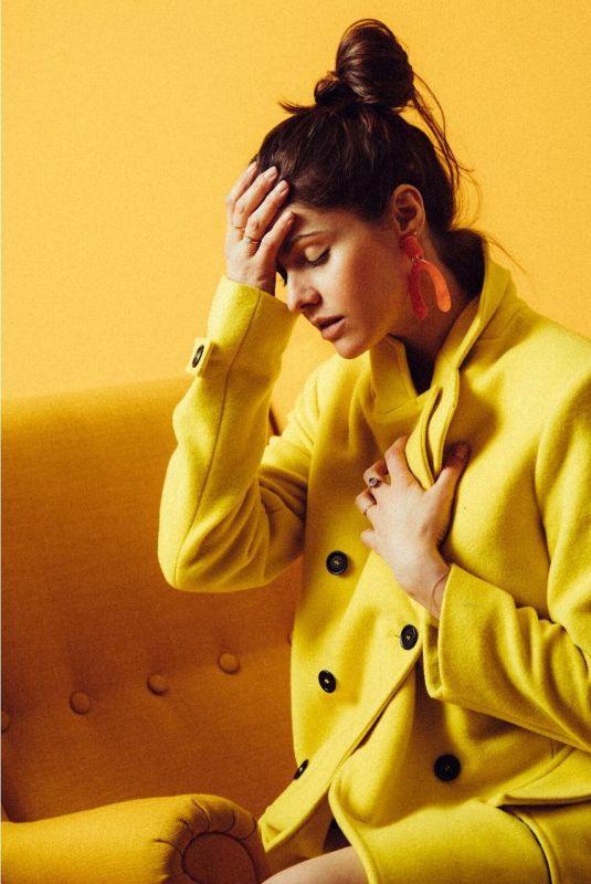 ALEXANDRA DADDARIO on the Set of a Photoshoot, January 2019