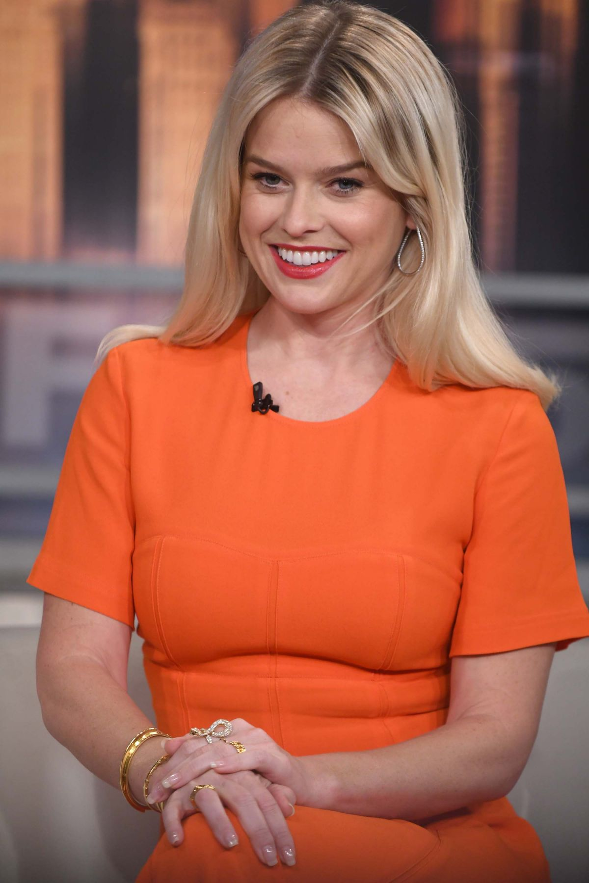 ALICE EVE at Good Day New York 01/08/2019 - HawtCelebs