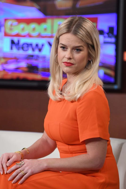 ALICE EVE at Good Day New York 01/08/2019