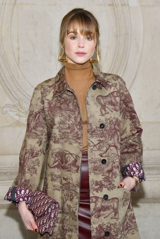 ALICE ISAAZ at Christian Dior Show at Paris Fashion Week 01/21/2019