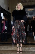 ALICE TAGLIONI at Elie Saab Show at Paris Fashion Week 01/23/2019