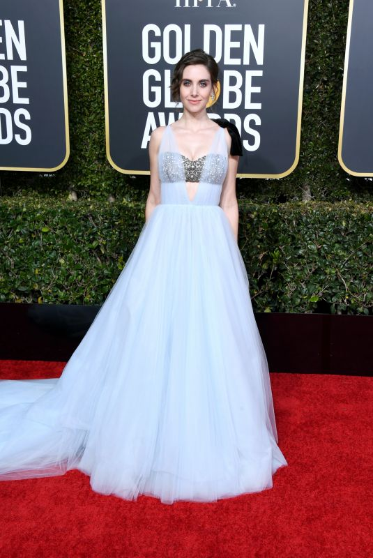 ALISON BRIE at 2019 Golden Globe Awards in Beverly Hills 01/06/2019