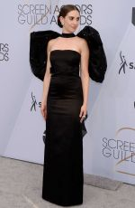 ALISON BRIE at Screen Actors Guild Awards 2019 in Los Angeles 01/27/2019