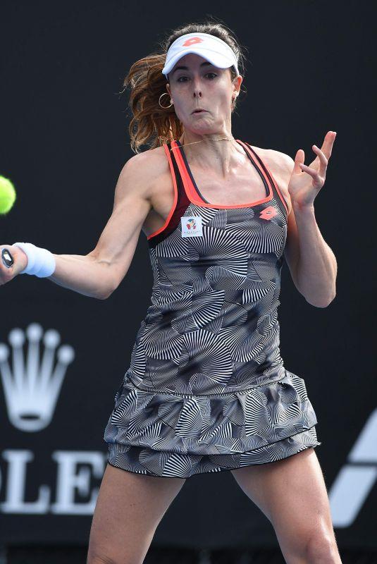 ALIZE CORNET at 2019 Australian Open at Melbourne Park 01/15/2019
