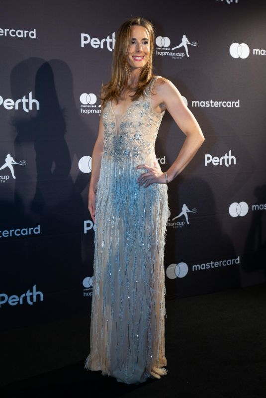 ALIZE CORNET at Hopman Cup New Year's Eve Gala in Perth 12/31/2018