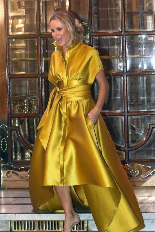 AMANDA HOLDEN Leaves Palladium in London 01/24/2019