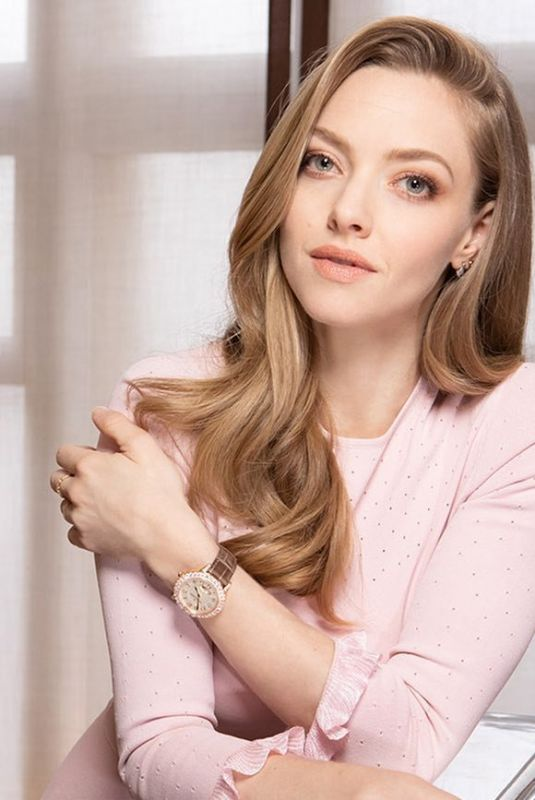 AMANDA SEYFRIED for Jaeger-Lecoultre 2019 Campaign