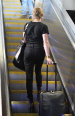 AMBER HEARD at LAX Airport in Los Angeles 01/06/2019