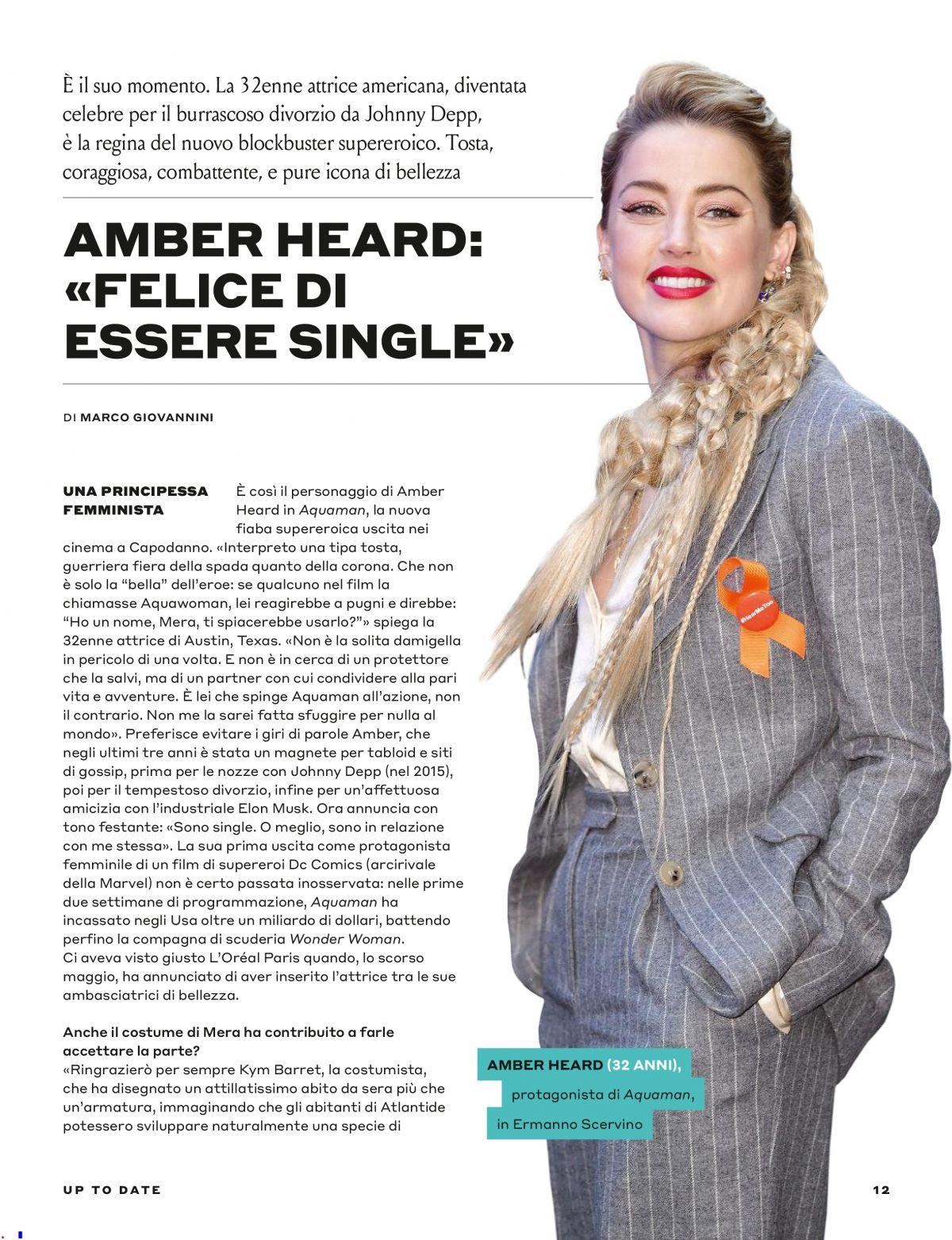 Tustyle Magazine November 2015 Issue: AMBER HEARD In Tu Style Magazine, January 2019