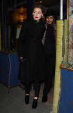 AMBER HEARD Leaves Laperouse Restaurant in Paris 01/21/2019