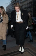 AMBER HEARD Out and About in Paris 01/21/2019