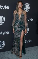 AMBER STEVENS at Instyle and Warner Bros Golden Globe Awards Afterparty in Beverly Hills 01/06/2019