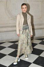 AMELIA WINDSOR at Christian Dior Show at Paris Fashion Week 01/21/2019