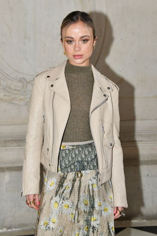 AMELIA WINDSOR at Christian Dior Show at Paris Fashion Week 01/21/2019