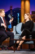 AMY ADAMS at Late Late Show with James Corden in New York 01/09/2019
