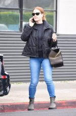 AMY ADAMS Out Shopping in Beverley Hills 01/15/2019