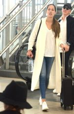 ANA IVANOVIC and Bastian Schweinsteiger Arrives at Aiport in Sydney 01/08/2019