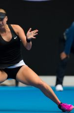 ANASTASIA POTAPOVA at 2019 Australian Open at Melbourne Park 01/17/2019