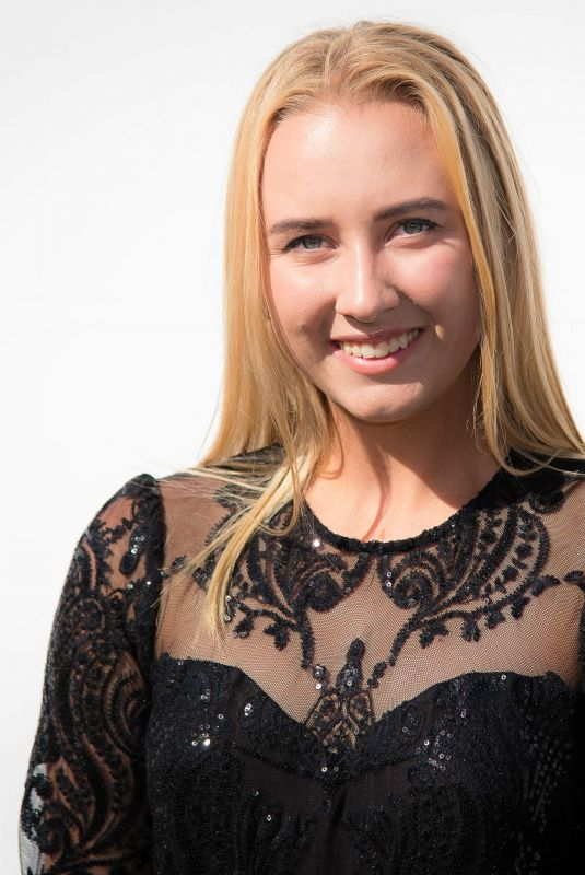 ANASTASIA POTAPOVA at Crown Img Tennis Party in Melbourne 01/13/2019