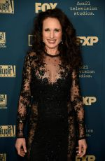 ANDIE MACDOWELL at Instyle and Warner Bros Golden Globe Awards Afterparty in Beverly Hills 01/06/2019