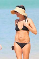 ANDREA CORR in Bikini at a Beach in Bridgetown 01/07/2019