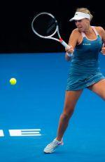 ANETT KONTAVEIT at Brisbane International Tennis 01/02/2019