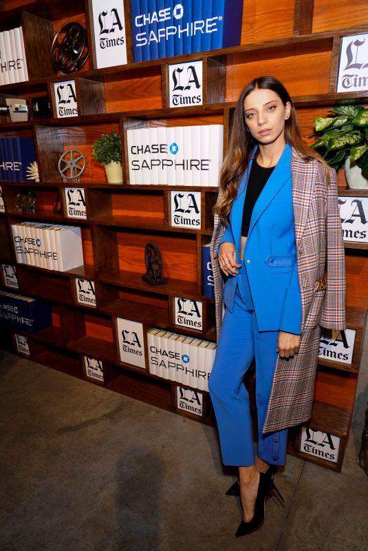 ANGELA SARAFYAN at LA Times Photo Studio in Park City 01/26/2019