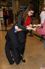 ANGELA SARAFYAN at Salt Lake City Airport 01/24/2019