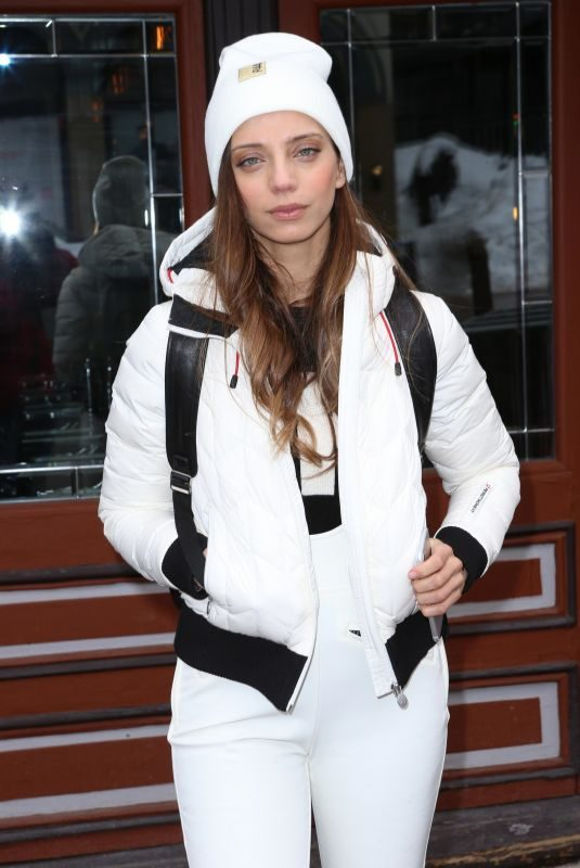ANGELA SARAFYAN Out at Sundance Film Festival in Park City 01/25/2019