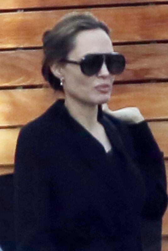 ANGELINA JOLIE Out and About in West Hollywood 01/08/2019