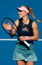 ANGELIQUE KERBER at 2019 Australian Open at Melbourne Park 01/14/2019