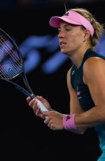 ANGELIQUE KERBER at 2019 Australian Open at Melbourne Park 01/18/2019