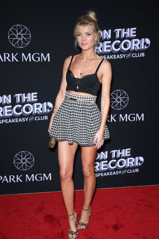 ANITA GREEN at On the Record Opening in Las Vegas 01/19/2019