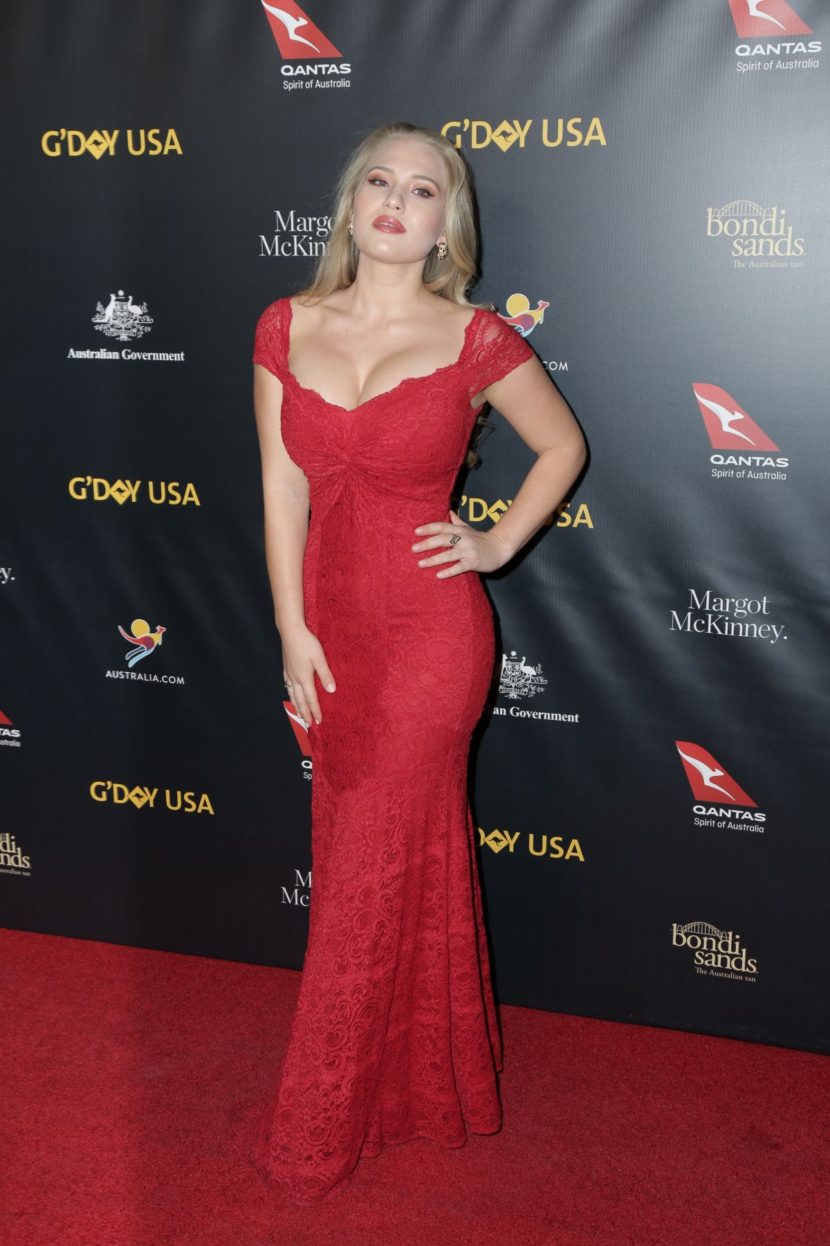 ANJA NISSEN at G'day USA Los Angeles Gala in Culver City 01