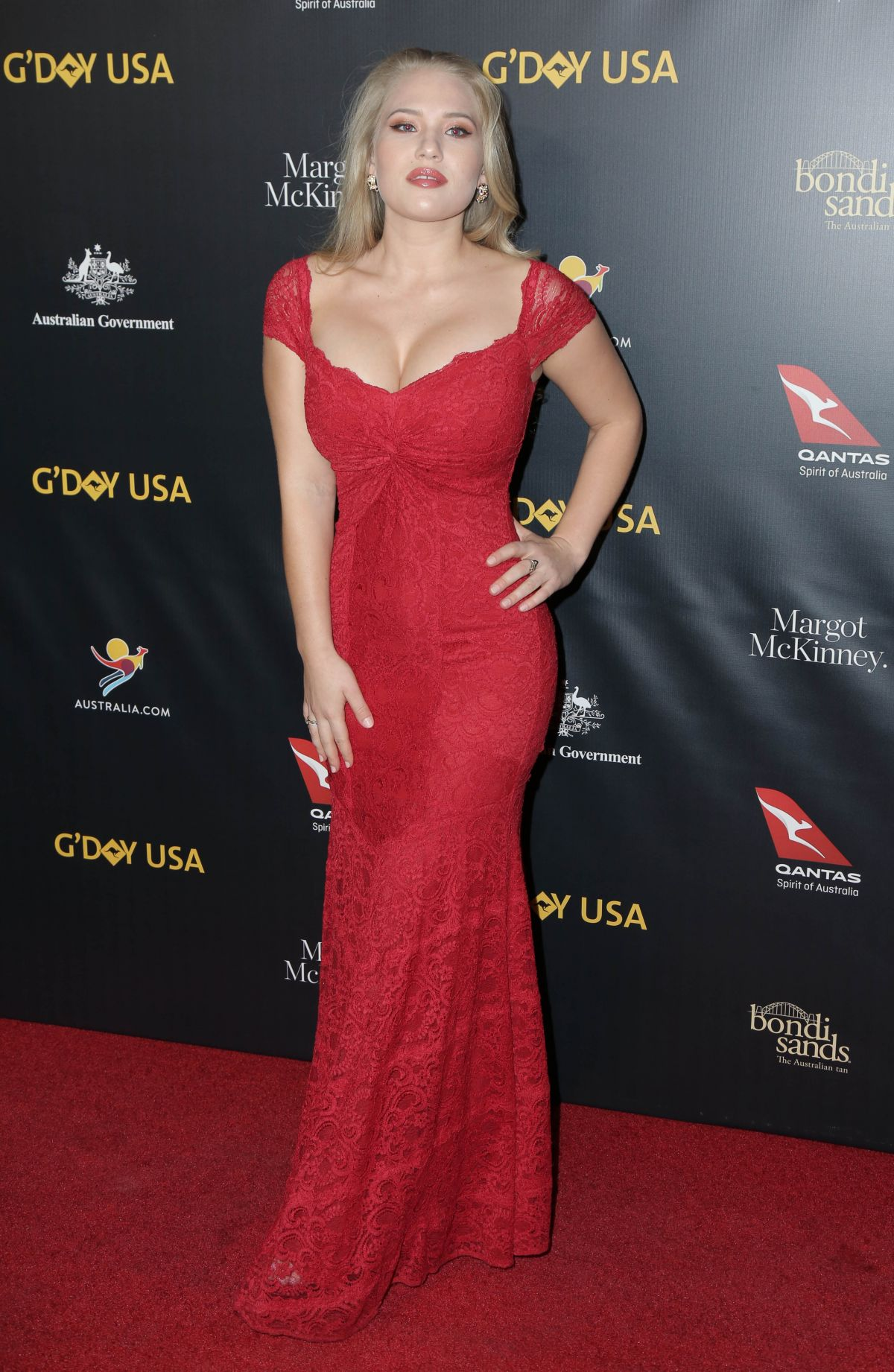 Anja Nissen At G Day Usa Los Angeles Gala In Culver City