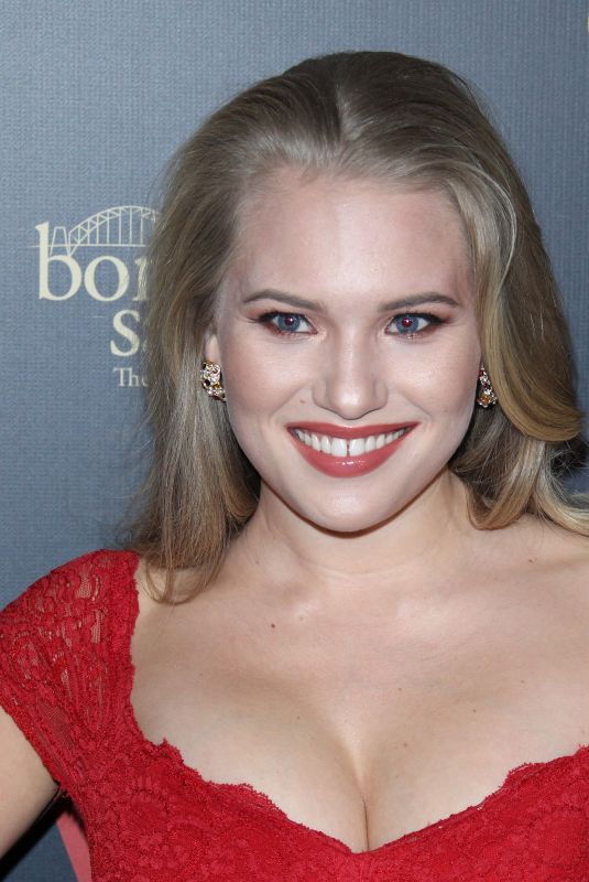 ANJA NISSEN at G'day USA Los Angeles Gala in Culver City 01/26/2019