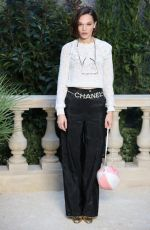 ANNA BREWSTER at Chanel Fashion Show in Paris 01/22/2019