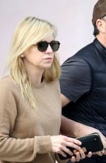 ANNA FARIS and Michael Barrett Out in Los Angeles 01/29/2019