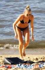 ANNA HEINRICH in Bikini at a Beach in Sydney 01/22/2019