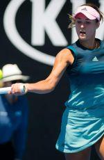ANNA KALINSKAYA at 2019 Australian Open at Melbourne Park 01/14/2019