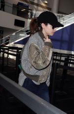 ANNA KENDRICK at LAX Airport in Los Angeles 01/10/2019