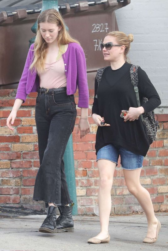 ANNA PAQUIN and LILAC MOYER Out in Venice Beach 01/13/2019