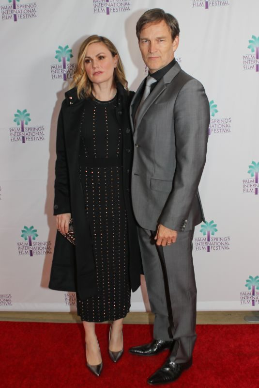 ANNA PAQUIN and Stephen Moyer at 30th Palm Springs International Film Festival 01/05/2019