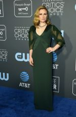 ANNA PAQUIN at 2019 Citics' Choice Awards in Santa Monica 01/13/2019